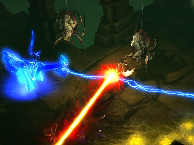 A screenshot from Diablo III.