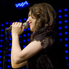 Regina Spektor, performing live at Le Poisson Rouge in New York City, May 31, 2012.