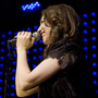 Regina Spektor, performing live at Le Poisson Rouge in New York C