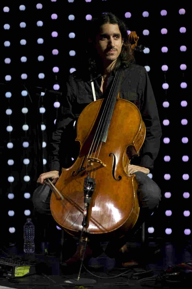 Cellist Yoed Nir also joined Regina Spektor on stage.