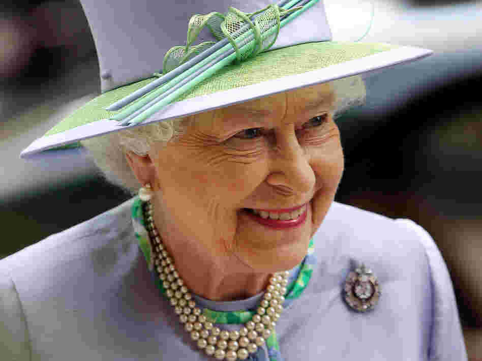 Britain's Queen Elizabeth II in London on Wednesday.