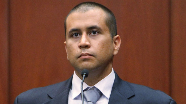 George Zimmerman during his bond hearing in a Seminole County, Fla., courtroom on April 20. (Orlando Sentinel-Pool/Getty Images)