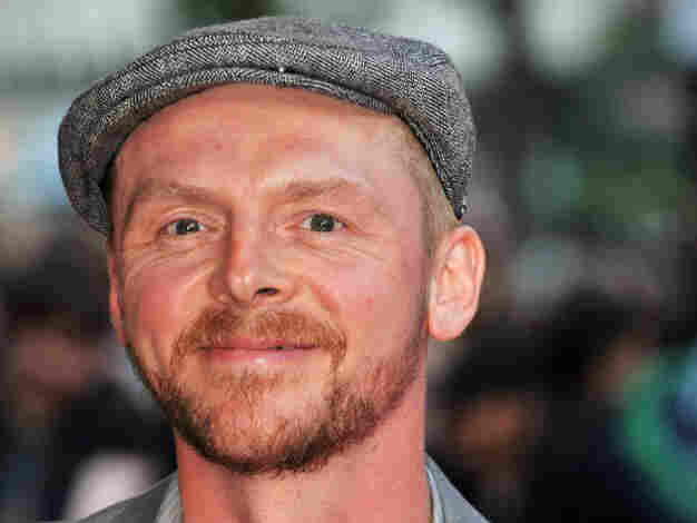 Simon Pegg attends the U.K. premiere of Attack The Block at Vue West End on May 4 in London.