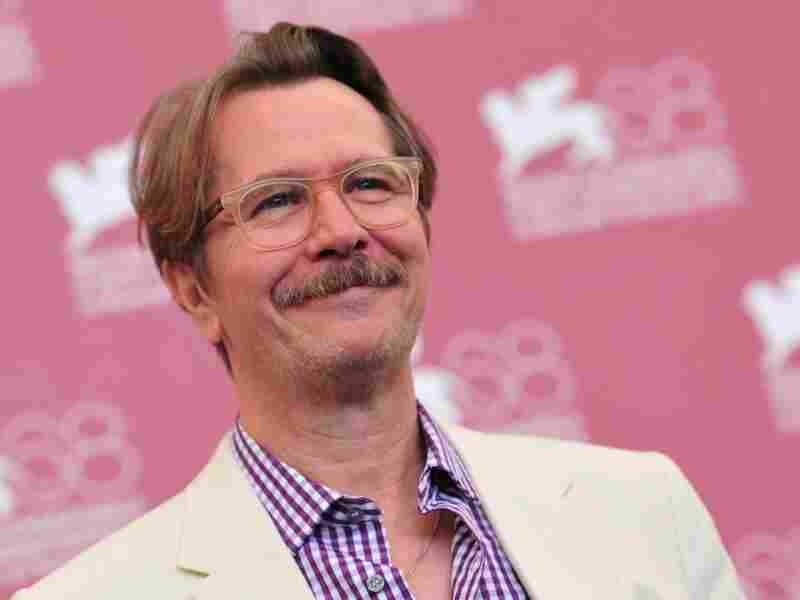 British actor Gary Oldman poses during the photo call for Tinker, Tailor, Soldier, Spy at the 68th Venice Film Festival on Sept. 5, 2011.