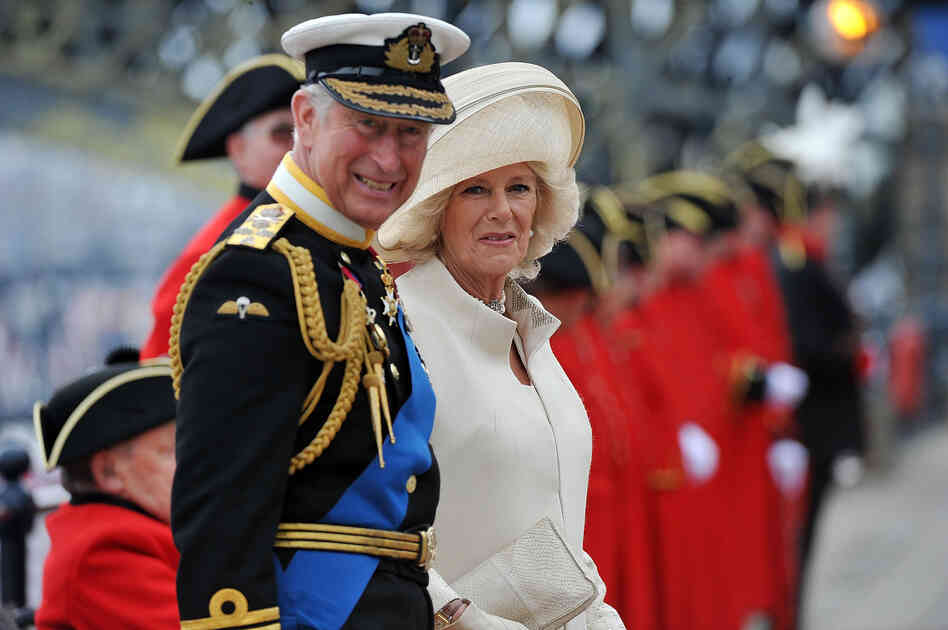 Prince Charles and Camilla, Duchess of Cornwall, also joined the qu