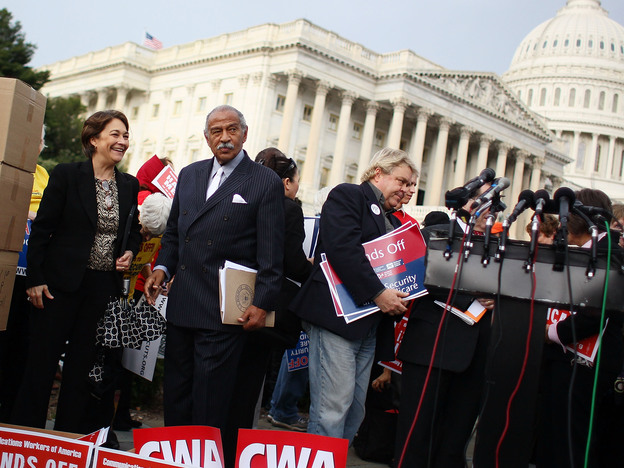 Rep. John Conyers, D- Mich., faces a tough re-election campaign after serving Detroit for 24 consecutive terms.