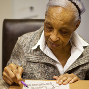 Maryland resident Ida Christian, 89, began showing symptoms of Alzheimer's disease in 2009. Her daughter, Geneva Hunter, and granddaughter, Yolanda, decided to take a hands-on approach to Ida's care. Ida lives with Geneva, and Yolanda quit her job to become Ida's daytime caregiver.