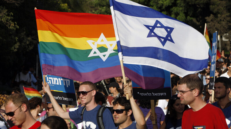 Israel Presents Itself As Haven For Gay Community : NPR