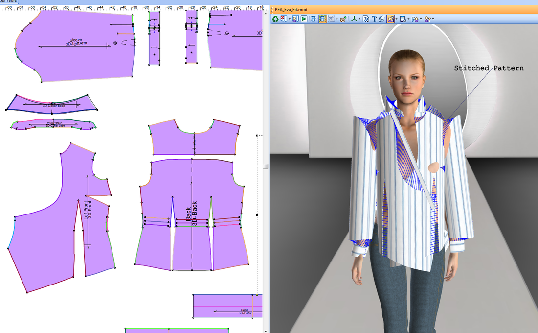 OptiTex creates digital models of clothes for department stores like Target and Kohl's. These computer designs let stores create or tweak new styles without actually stitching prototype garments.