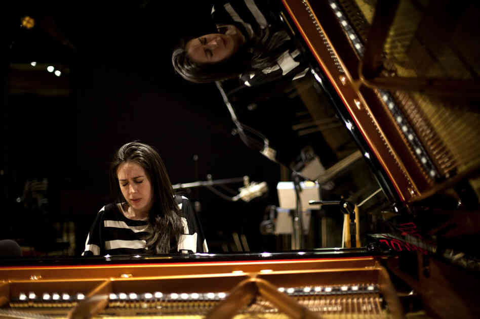 Pianist Vanessa Perez performs at NPR in Washington, D.C.