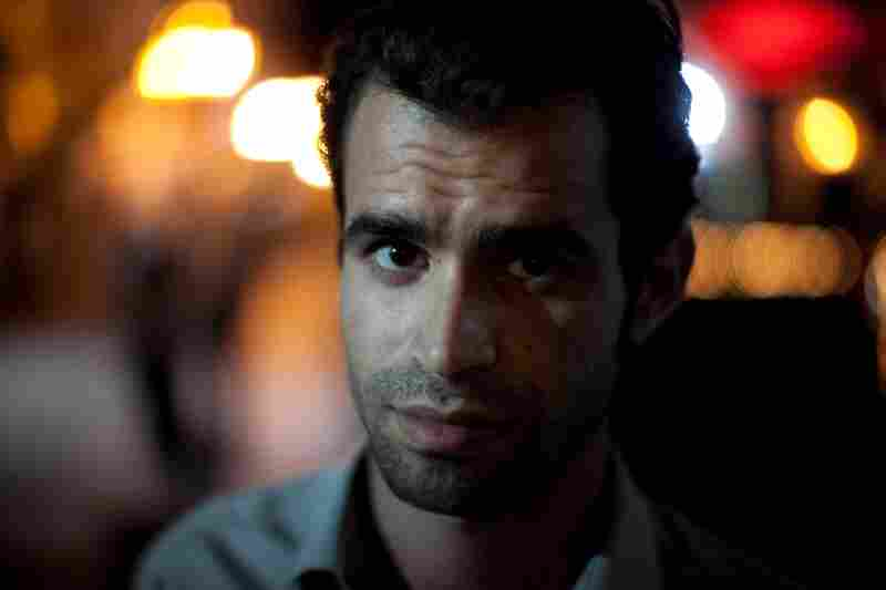 Political activist Ramy Sghayer says he favors a secular society for Tunisia.