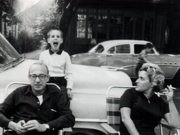 All Songs Considered host Bob Boilen, possibly singing with his parents, circa 1959.
