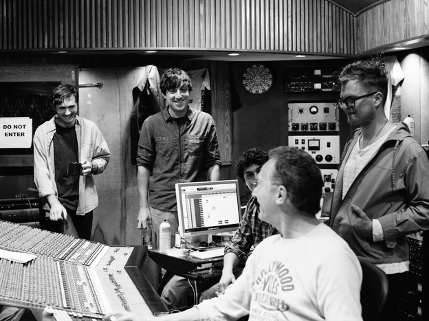Grizzly Bear in the studio.