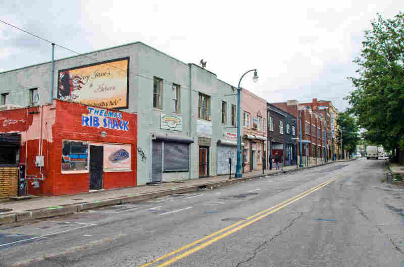 Sweet Auburn Historic District, a historically African American commercial area is threatened by inappropriate development.