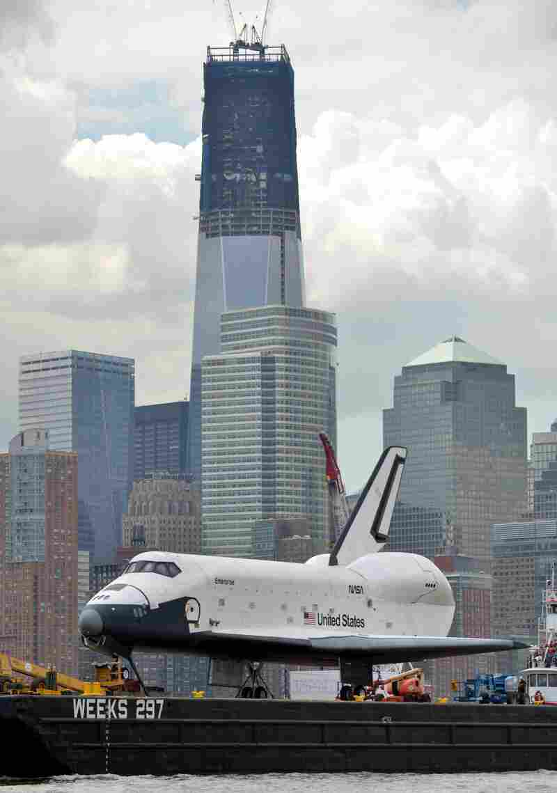 The Enterprise was only used for atmospheric testing.