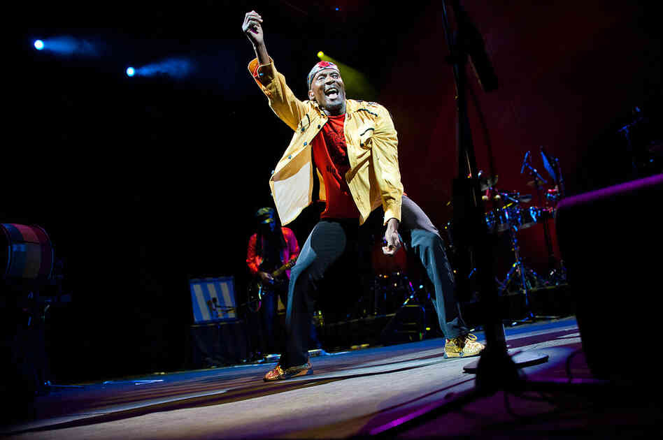 """The crowd went nuts for Cliff's older material, such as the """"Miss Jamaica Medley."""""""