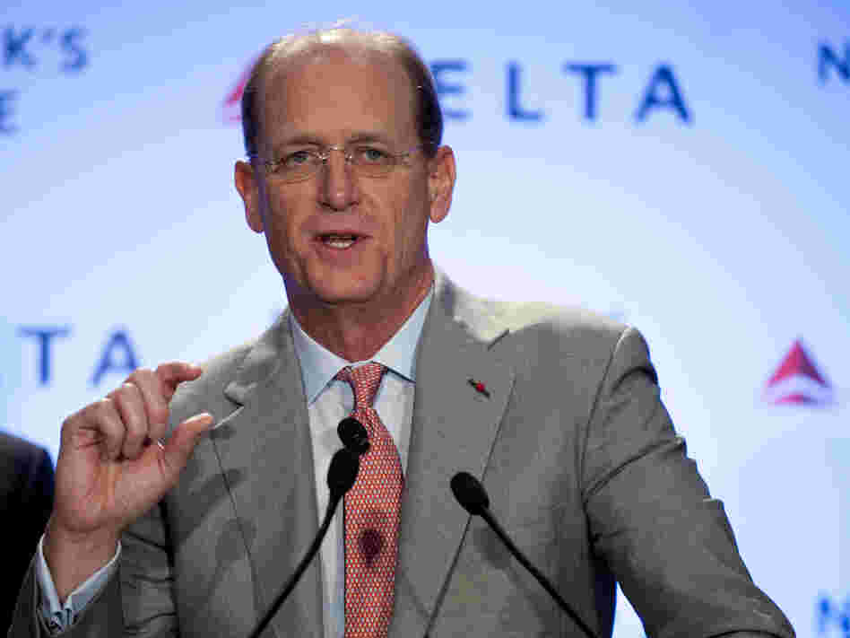 Delta Air Llines CEO Richard Anderson.
