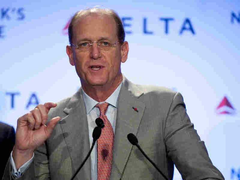 Delta Air Llines CEO Richard Anderson.