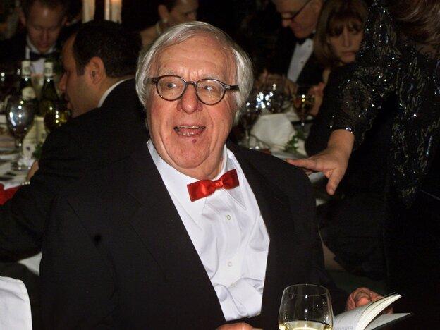 Science fiction writer Ray Bradbury in 2000.