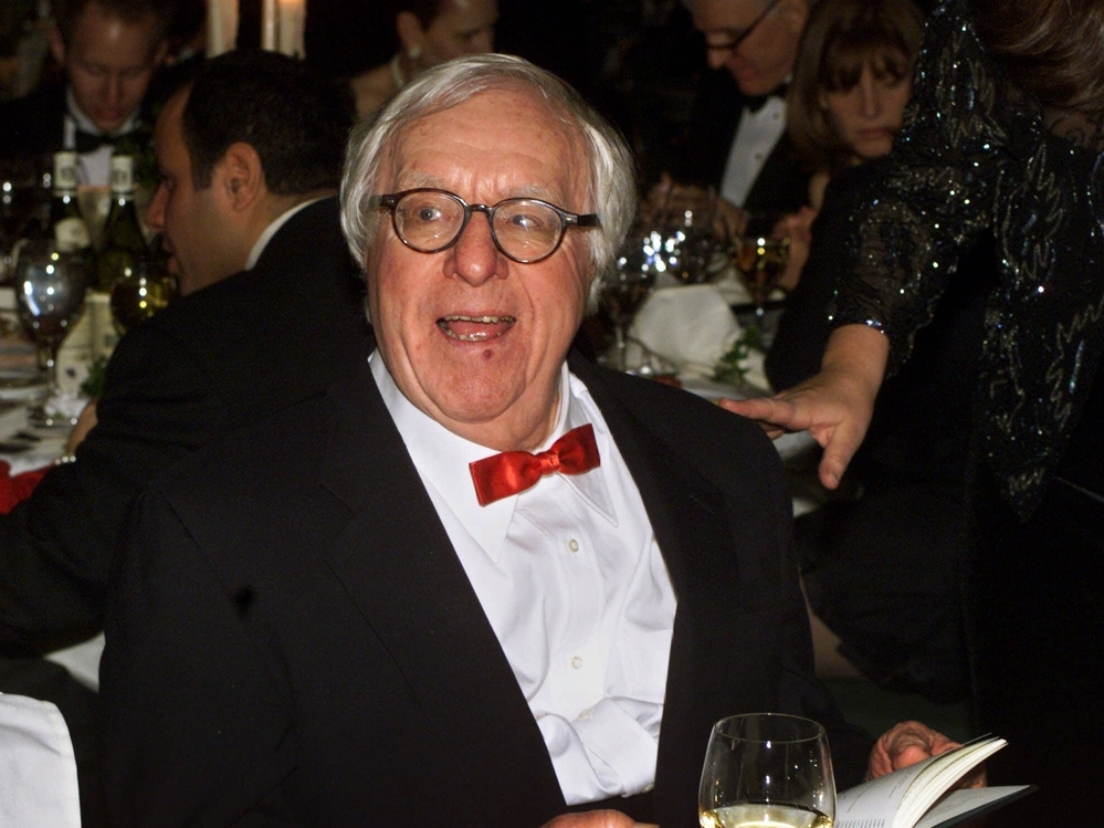 Science fiction writer Ray Bradbury in 2000.
