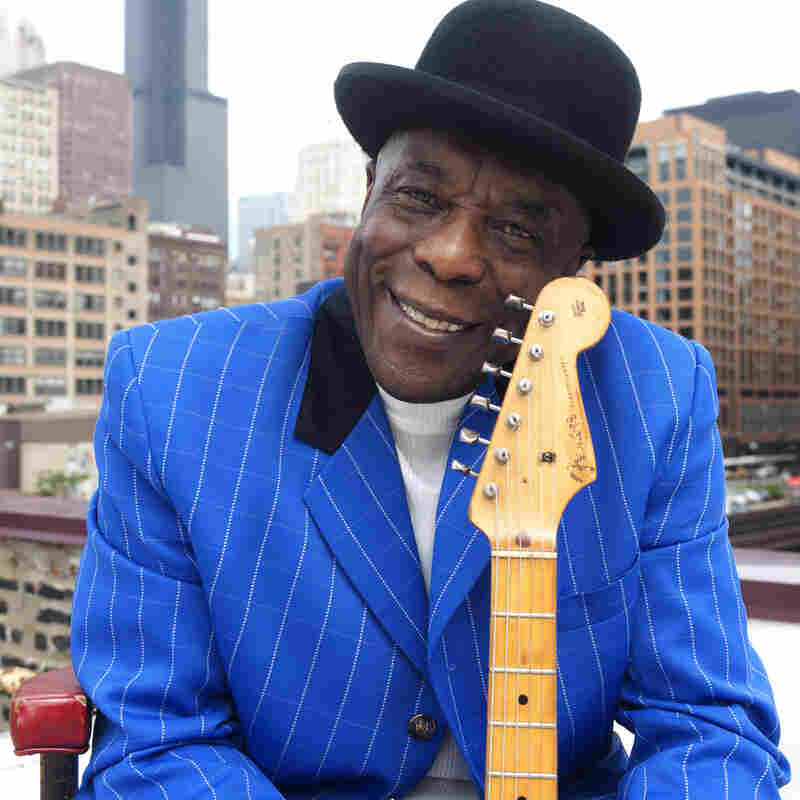 """""""I didn't learn nothing from a book,"""" Buddy Guy tells NPR's Neal Conan. """"I learned by ... being quiet, keep your ears open and listen."""""""