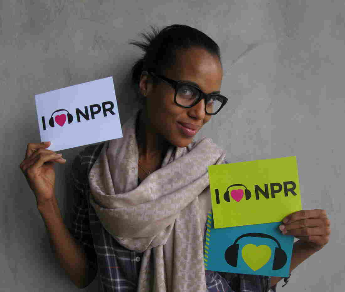 Kerry Washington at NPR West.