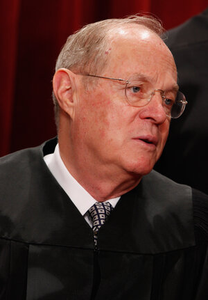 Justice Anthony Kennedy, who wrote the Citizens Unit