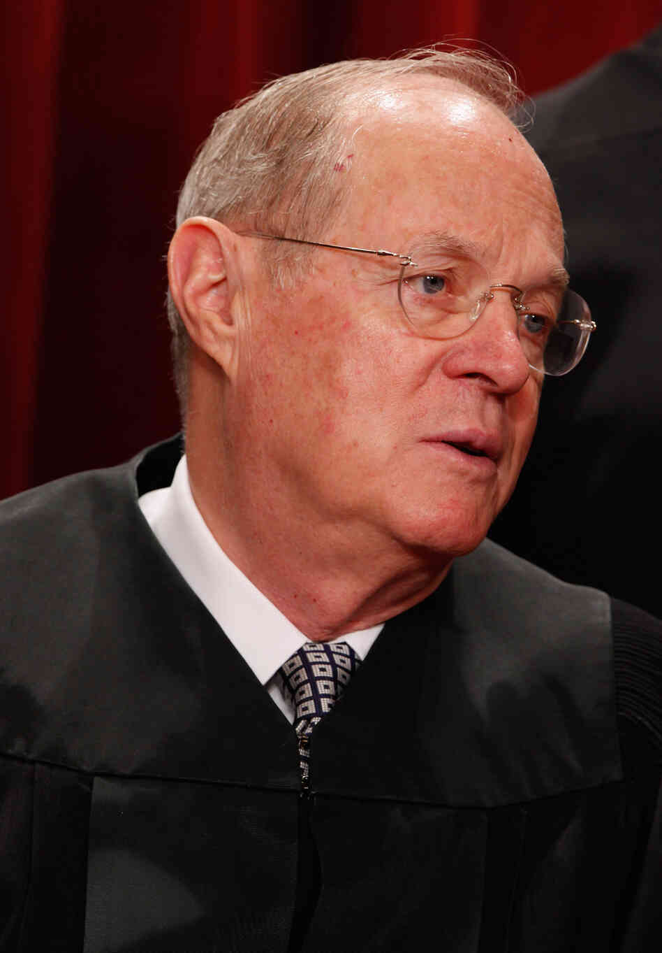 Justice Anthony Kennedy, who wrote the Citize