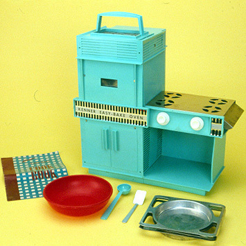 Released in 1963 and marketed with cosmetic updates ever since, the Easy-Bake Oven has introduced generations of American kids to the kitchen. But it wasn't the first toy to do so...