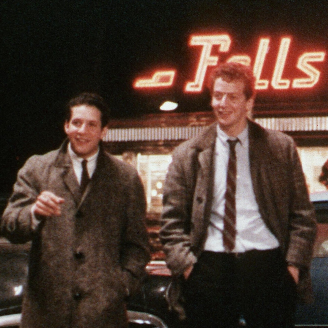 Steve Guttenberg (left) stars alongside Daniel Stern (center) and Paul Reiser in 1982's Diner, which continues to be one of his most beloved film projects. He sometimes appears as a guest at revival screenings.