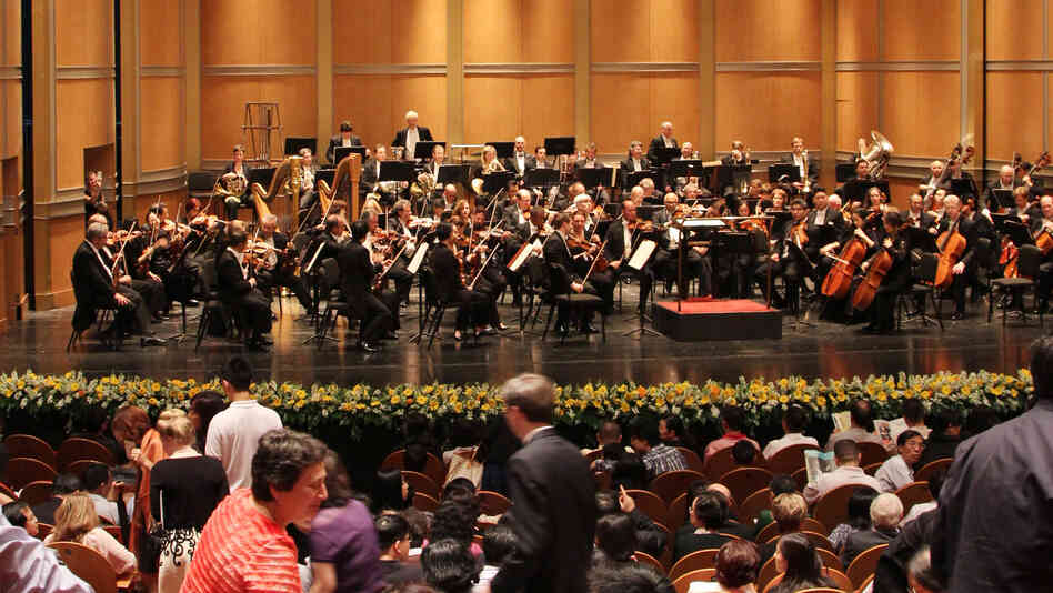 The Philadelphia Orchestra, which declared bankruptcy last year, has been performing in China, where it is looking to develop new streams of revenue.