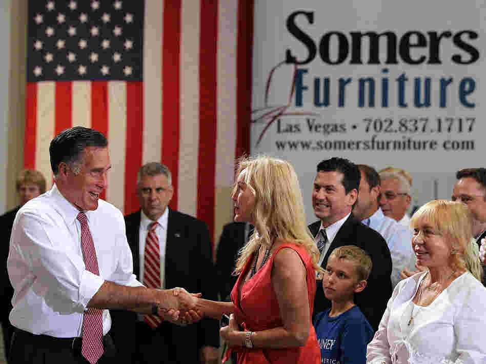 In May, Mitt Romney's campaign effort raised more than President Obama's for the first time.