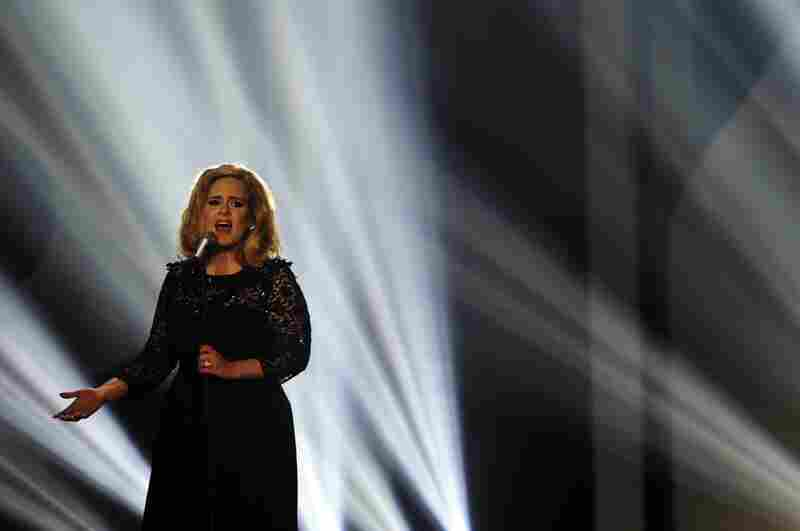 Adele performs in February.