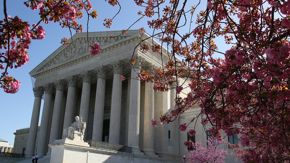 For more than 200 years, the Supreme Court has interpreted the meaning of the Commerce Clause of the Constitution. Its latest test is the case challenging the Obama health care law. (Getty Images)