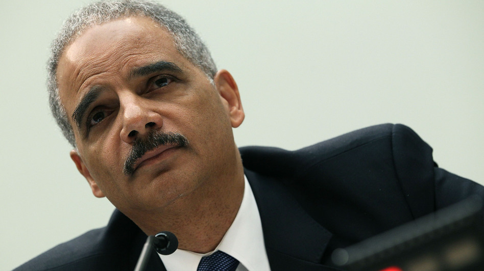 Attorney General Eric Holder testifies during a House Judiciary Committee hearing on Thursday in Washington, D.C. (Getty Images)