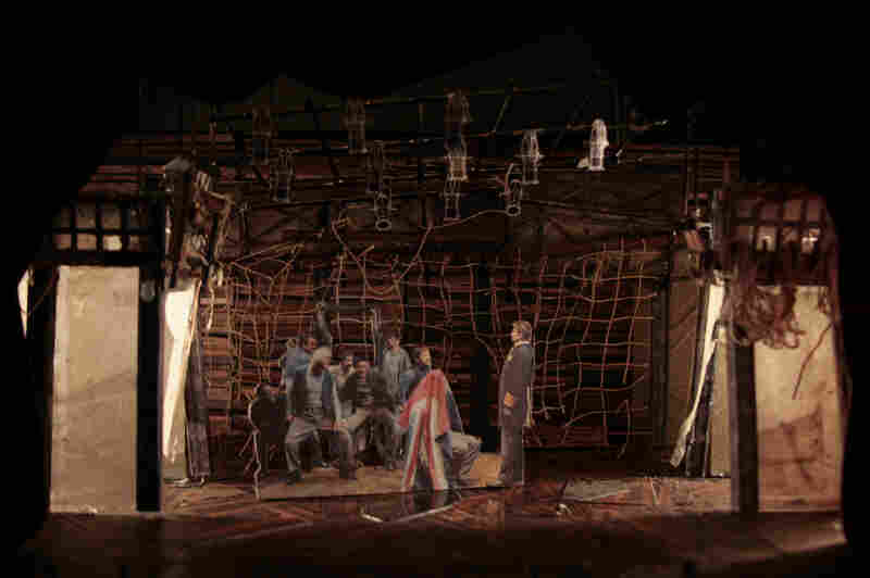 For Peter and the Starcatcher, set designer Donyale Werle wanted to suggest the found-object serendipity characteristic of kids at play.