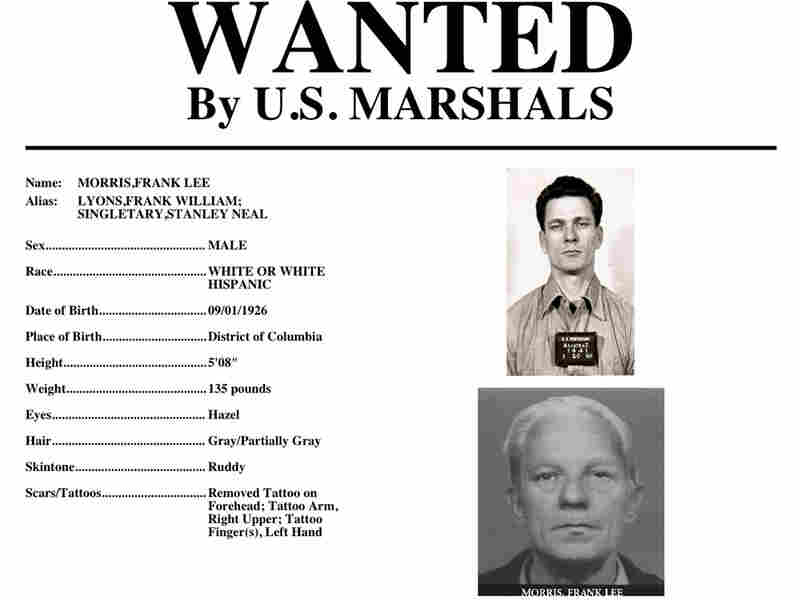 """Wanted"" poster created by U.S. Marshals for Frank Morris."