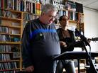 Daniel Johnston performs a Tiny Desk Concert at the NPR Music offices on May 15, 2012.