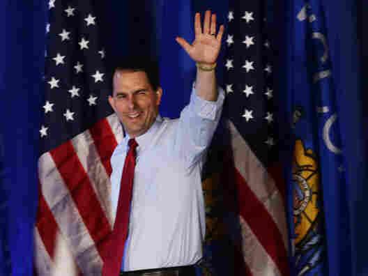 Wisconsin Republican Gov. Scott Walker handily won Tuesday's special recall election against Democratic challenger Tom Barrett.