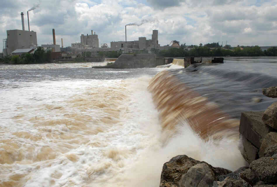 Next week, the Great Works Dam on the Penobscot River in Maine will be removed.