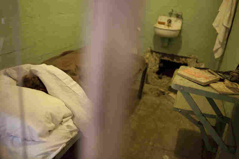 The inmates placed fake heads in their beds to trick guards while they dug a path to freedom.