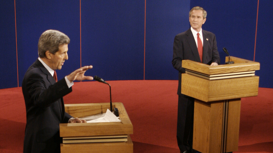 October 8, 2004 Debate Transcript