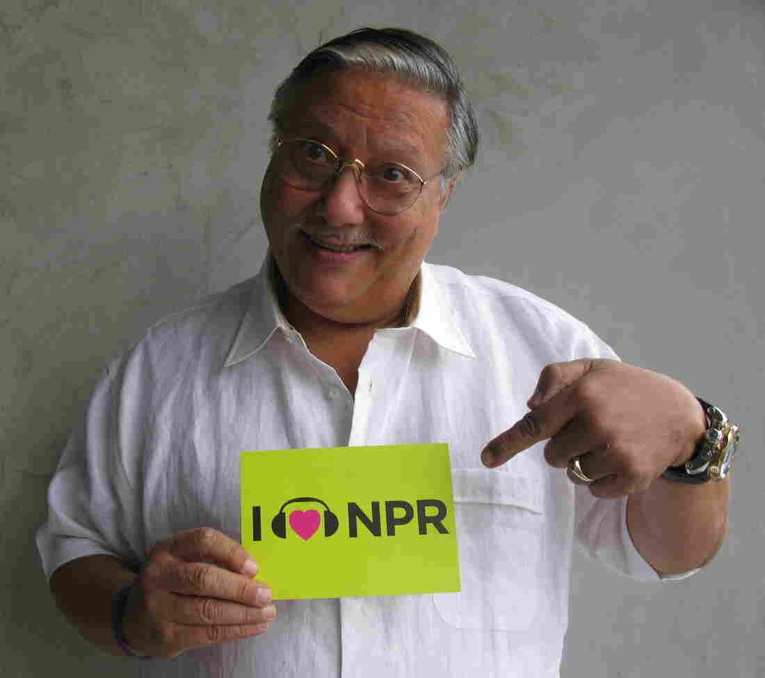 Arturo Sandoval at NPR West.