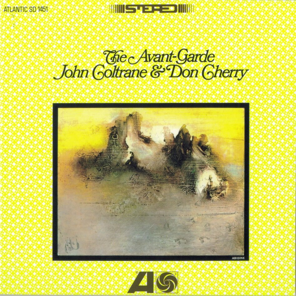 Cover art for The Avant-Garde by John Coltrane and Don Cherry. (Atlantic Records)