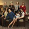 Bobby (Patrick Duffy, top left), J.R. (Larry Hagman, top center left) and the rest of the Ewing family are back, including a new generation, for TNT's reboot of Dallas.