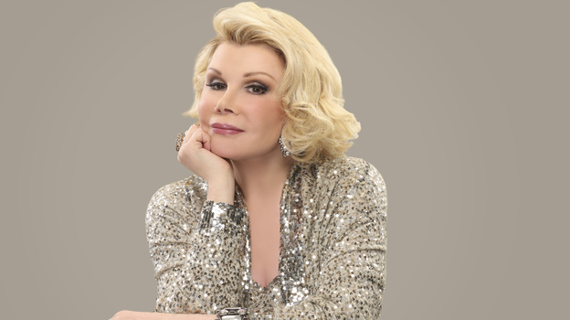 "Joan Rivers says her material has only gotten stronger with age. ""I always say, 'What are you going to do? Are you going to fire me? Been fired. Going to be bankrupt? Been bankrupt.'"" (Courtesy of the author)"
