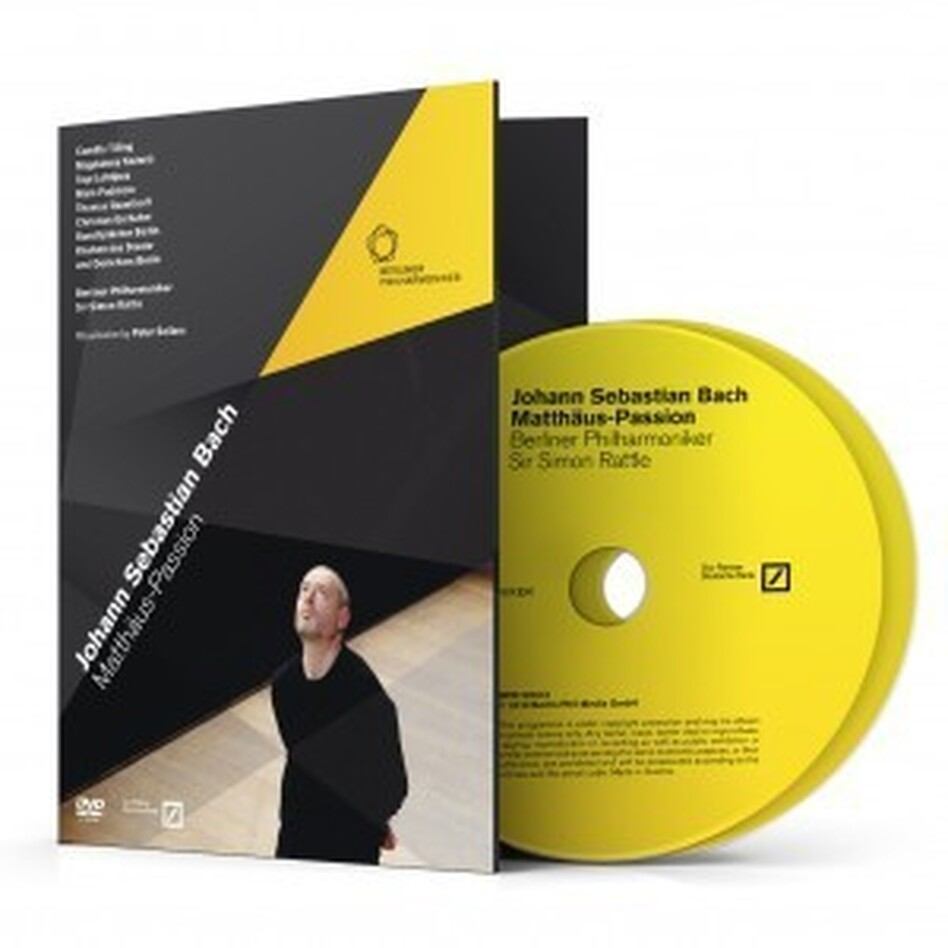 Cover of Berlin Philharmonic: Bach's St. Matthew Passion