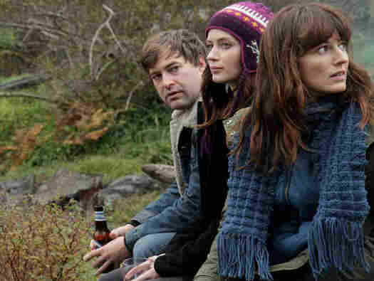 Jack with Iris and her sister, Hannah (Rosemarie DeWitt). Jack and Hannah's tequila-soaked one-night stand is the catalyst for the film's comedic twists.