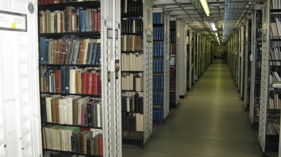 The library's stacks, which are closed to the public, currently hold about 3 million books.