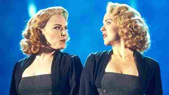 Emily Skinner (left) and Alice Ripley in the original Broadway production of a show that we will shortly discuss further.